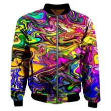 Tessffel New Fashion Harajuku Oli printing Art illusion Funny Colorful Men/Women 3DPrint Zipper/Hoodies/Hoodie/Bomber Jackets s7