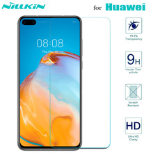 Nillkin for Huawei P40 Lite P30 P20 Glass Screen Protector Safety Tempered Glass on Huawei Mate 30 20 X 20X Honor 30 30s 20 Pro