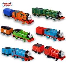 Thomas and Friends – train électrique Original 1:43, modèle de voiture à moteur en métal, batterie, jouets pour enfants