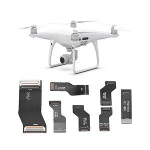 Image 1 - Kabel płaski zestaw kabli Flex dla DJI Phantom 4 Pro Drone części naprawa drutu części zamienne dla DJI Phantom 4 Pro Drone akcesoria do dronów