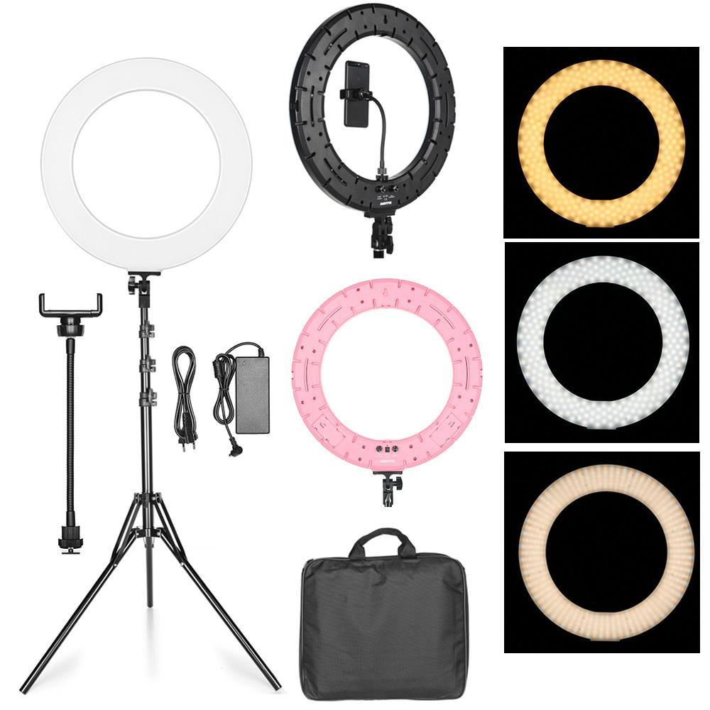 Ring-Light Light-Stand Annular-Lamp Video-Youtube 3000k-6000k-Ring-Lamps LED Bi-Color