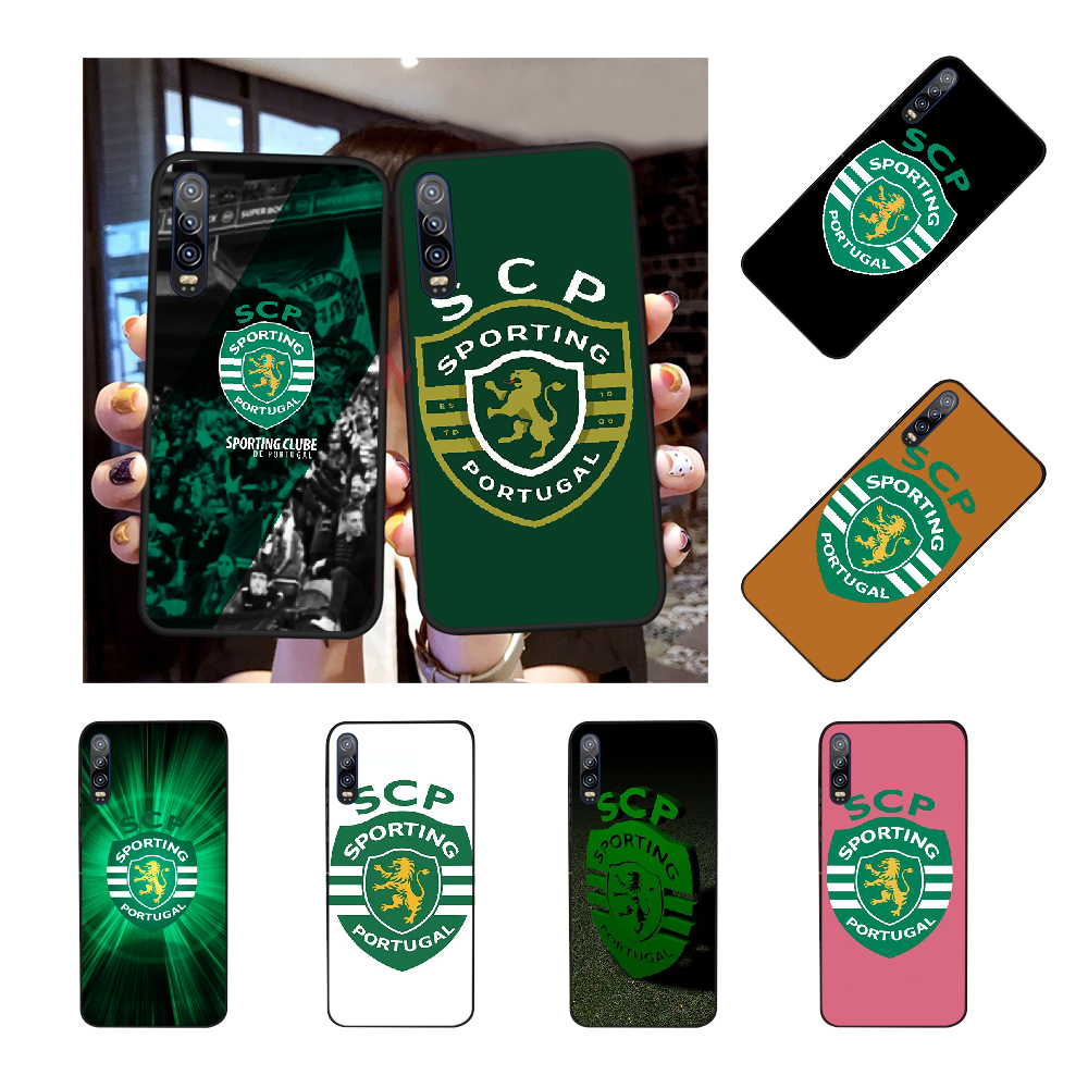 NBDRUICAI Sporting Portugal Coque Borsette Cassa Del Telefono per Huawei P30 P20 P10 P9 P8 Compagno di 20 10 Pro Lite