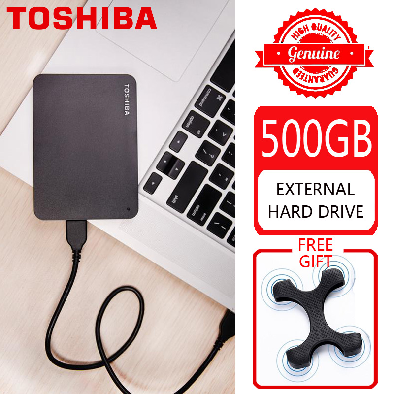 TOSHIBA Storage-Device HDD Computer Laptop External-Hard-Drive-Disk SATA Usb-3.0 CANVIO title=