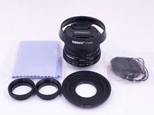 Мини 25 мм F1.8 фотообъектив с ручной фокусировкой для видеонаблюдения для canon eosm nikon1 sony e mount fuji fx m43 pentax pq беззеркальная камера