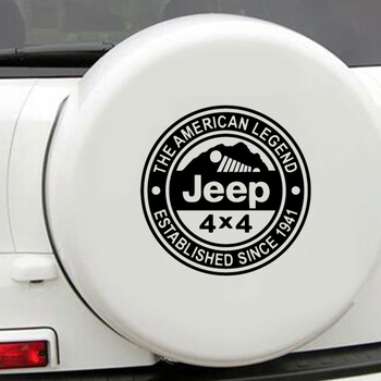 Vinyl Jeep Car Decal Car Truck Body Side Door Sticker Decal Graphic Universal Car Side Door Stickers image
