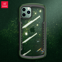 충격 방지 케이스 iPhone 11 12 Pro Max X 7 XR 케이스 Xundd 에어백 커버 투명 보호 케이스 스크린 보호 유리