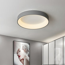 Современные светодиодные потолочные светильники круглая лампа