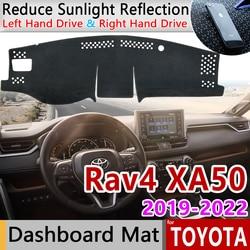 Voor Toyota Rav4 XA50 2019 2020 RAV 4 XA 50 Anti-Slip Mat Dashboard Cover Pad Zonnescherm Dashmat Tapijt anti-uv Auto Accessoires Tapijt