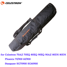 Protetor de transporte telescópico macio, tripé, bolsa de ombro, mochila para boma 70/900 80eq 90/1000 celestron 70az 70eq 80eq _90az