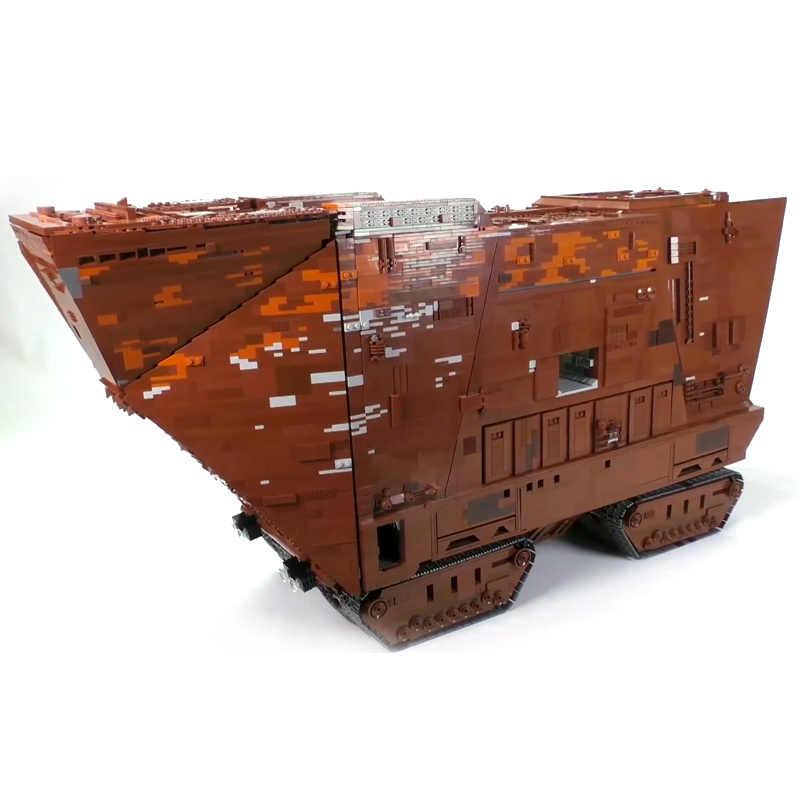 Yeshin Звездные игрушки войны совместимы с Lepining MOC 13289 Cavegod UCS Sandcrawler модель сборки строительные блоки кирпичи подарок для детей