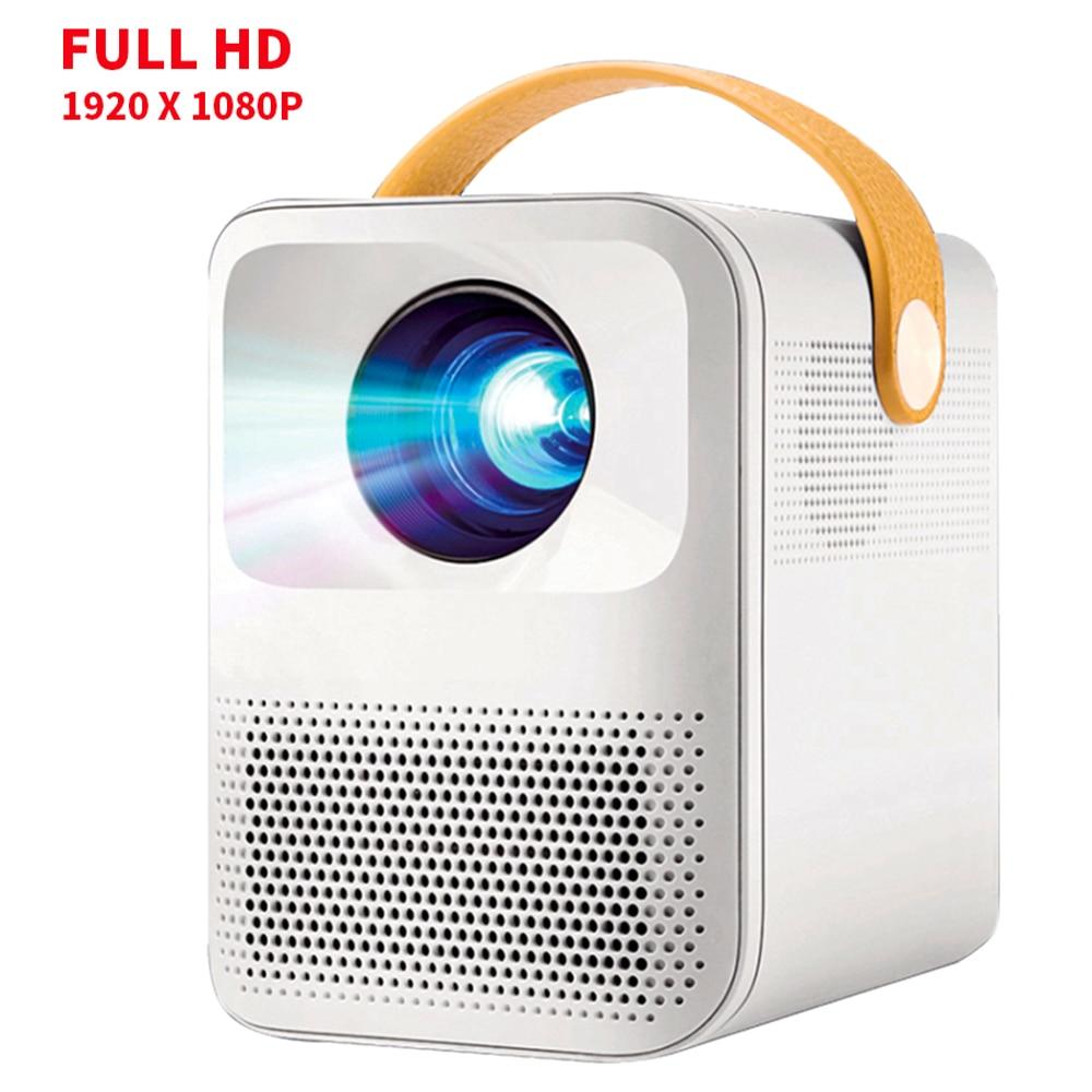 Светодиодный мини-проектор для телефона 1080P Full Hd Android Wifi домашний кинотеатр Usb Домашний кинотеатр PR57023