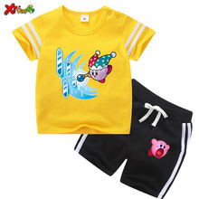Комплекты одежды для маленьких девочек 2020 летняя детская одежда