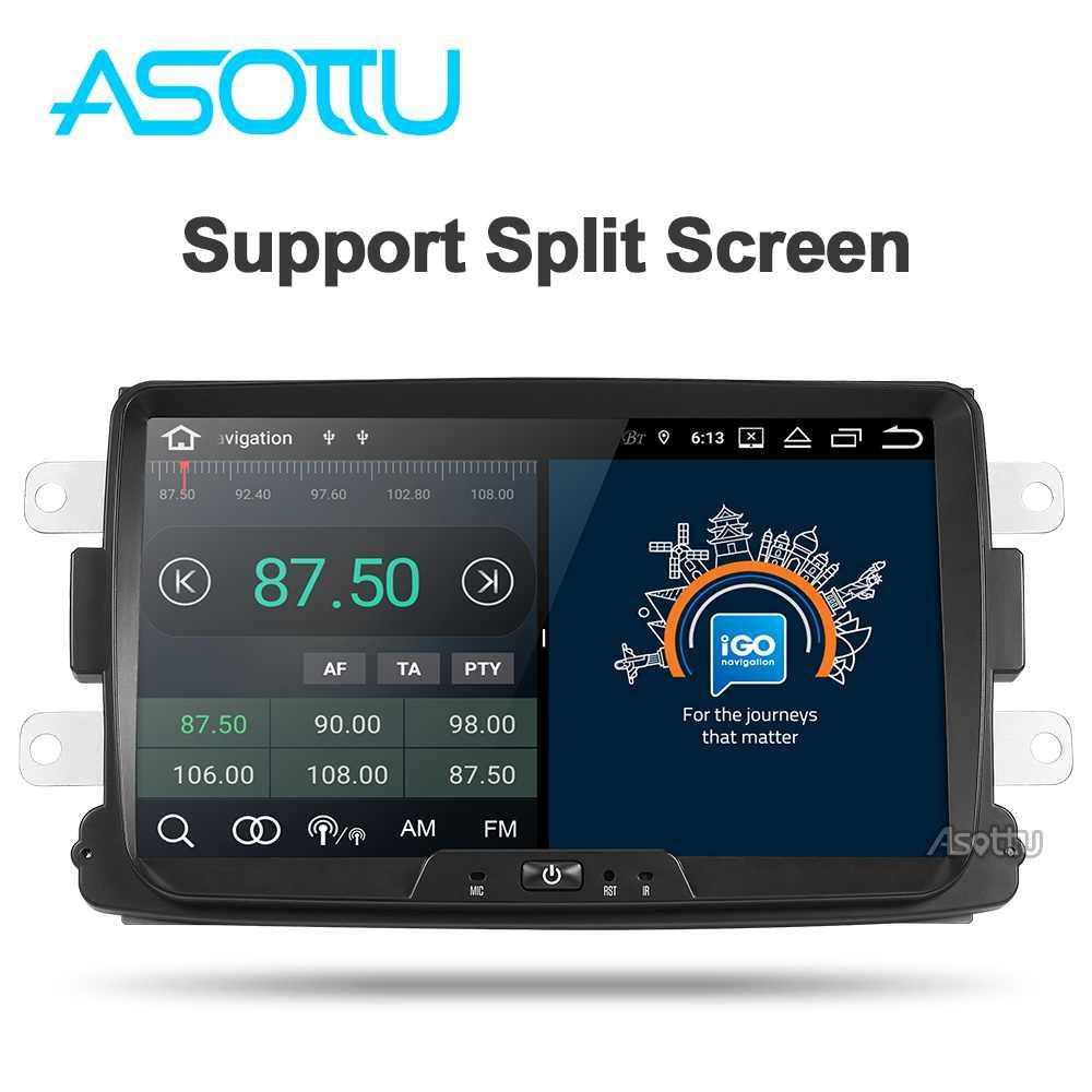 Asottu CDXY8071 2G + 32G android samochodowy odtwarzacz dvd dla renault duster Dacia Sandero Captur Lada Xray 2 Logan 2 gps samochód z nawigacją odtwarzacz gps
