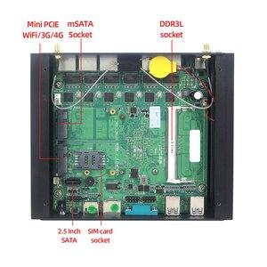 Image 5 - XCY Mini PC Core i5 7200U i3 7100U 6x Gigabit LAN Intel i211 NIC RS232 WiFi 4G LTE AES NI Run pfSense OPNsense Firewall Router