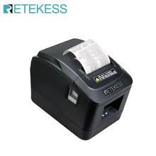 RETEKESS TD022 Portable Mini 72 mm Black Thermal ticket printer 160 for restaurant order system