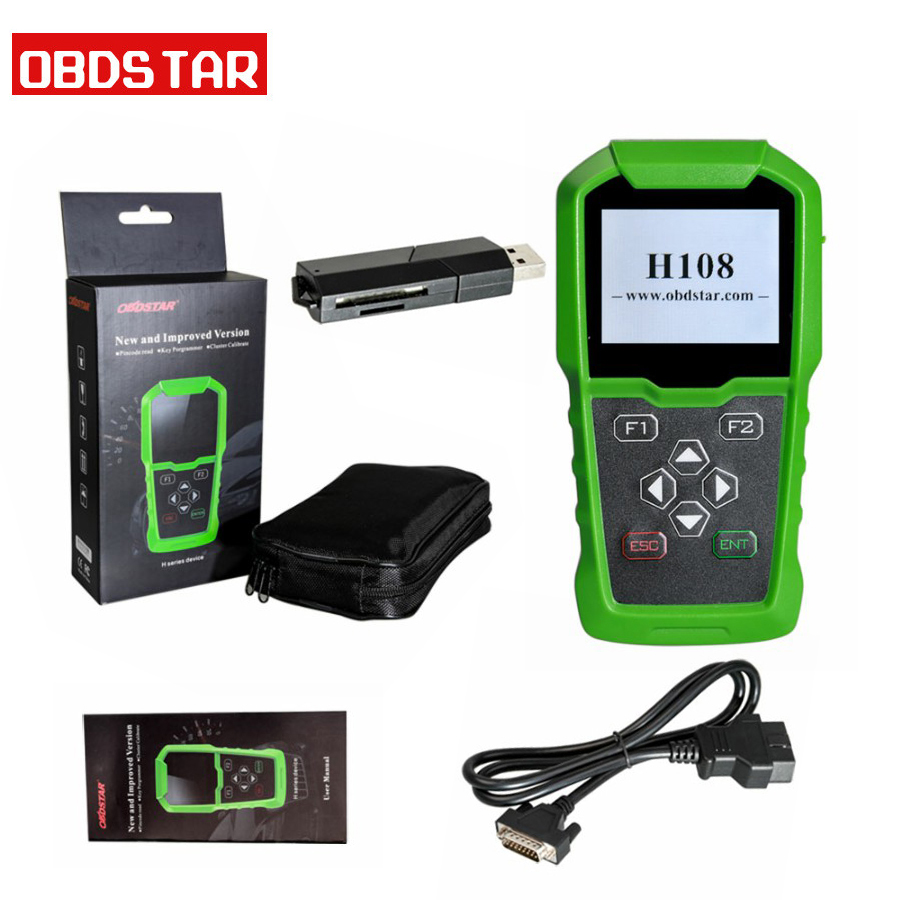 Original OBDSTAR H108 PSA Programmer Support All Key Lost/Pin Code Reading/Cluster Calibrate-in Auto Key Programmers from Automobiles & Motorcycles on