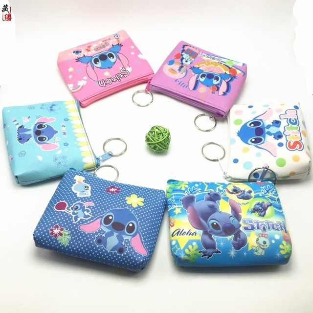 Disney Mickey Minnie Prinses Kind Pouch Opslag Munt Cartoon Portemonnee Clutch Kid Hanger Portemonnee Bevroren Card Case Gift Meisje