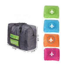 2019 New Men Women Polyester Travel Bag Organizer Hand Luggage Foldable Large Capacity Travel Bag Men Women Storage Bag
