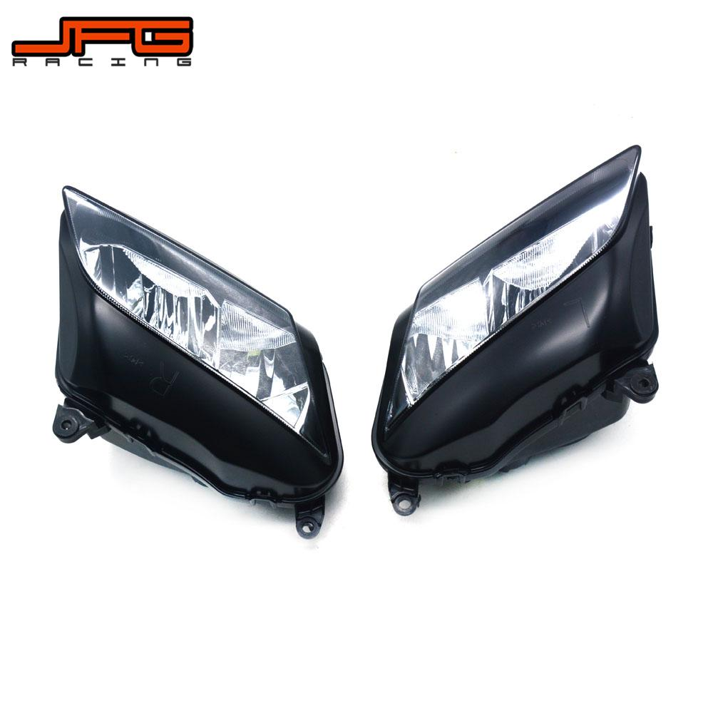Motorcycle Headlight Head Lamp Light Assembly For HONDA CBR600RR CBR 600RR 2007 2008 2009 2010 2011 2012 Street Bike