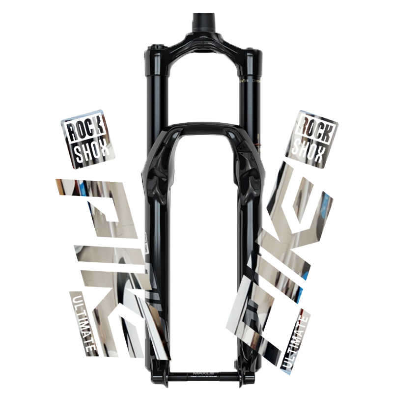 Rock Shox SID 2017 Mountain Bike Cycling Fork Decal Sticker Adhesive Oil Slick