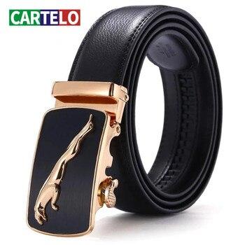 CARTELO for Men High Quality Automatic Buckle Male Waist Strap New Designer Mens Belts Luxury Man Fashion Belt BB04