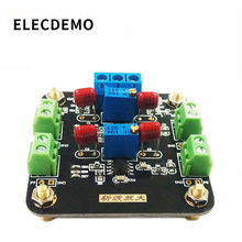 Tlc2652 módulo fraco amplificação de sinal dc amplificador de amplificação de sinal chopper função placa demonstração