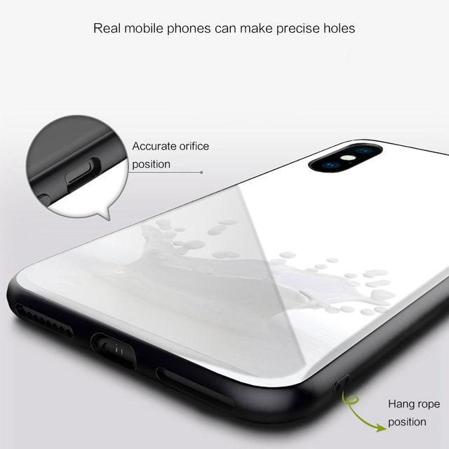 Nayida mleko ser Soft Silicone Case For Huawei Honor 30 20 10 Lite Pro 10i 20i 9a 8a 8x Glass Cover 5