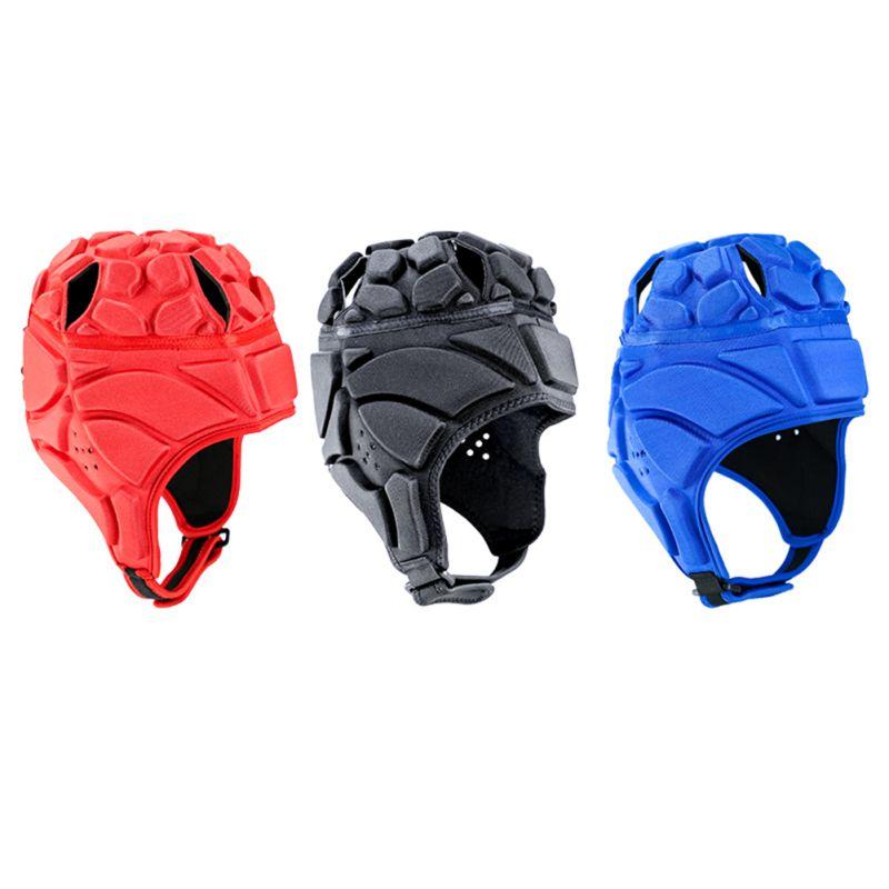 Adjustable Soccer Goalkeeper Goalie Helmet Head Protector Support Accessories