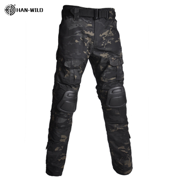 Military Uniform  Tactical Combat Shirt Us Army Clothing Tatico Tops Airsoft Multicam Camouflage Hunting FishingPants Elbow/Knee 14
