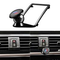 De fibra de carbono de coche soporte de teléfono para aire acondicionado reemplazo para BMW F20 F30 F31 F32 F33 F34 F35 F36 Smartphone soporte de montaje