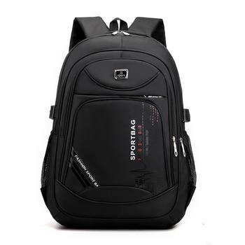 2021 Backpack Fashion Large Men Backpack Laptop Rucksack School Bag For Teenage Boys Mochilas Female Shoulder Bags Backbag 1