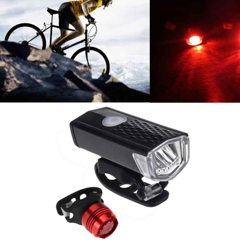Bike MTB Front Head Light COB LED Bicycle Cycling Light Headlight Outdoor Riding