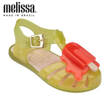 Mini Melissa Popsicle Mädchen Gelee Schuhe 2020 Sommer Schuhe Melissa Sandalen Kinder Sandalen Mädchen Kleinkind Zandalias Kinder Schuhe Kleinkind(China)