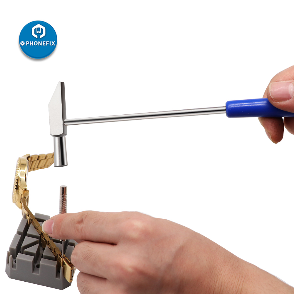 Watch Repair Tools Watch Hammer Watch Band Bracelet Link Remover Watch Pin Removal Tools Mini Hammer For Men Women Watch Tools