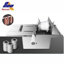 Cena hurtowa maszyna do spinania kiełbas/kiełbasa wiązarka/maszyna do wiązania kiełbas z fabryki bezpośrednio sprzedaż