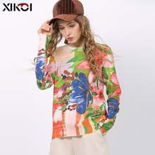 Autumn Knitted Sweater Women Winter O-Neck Pullove