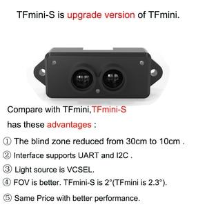 Image 2 - Лидар TFmini S, модуль датчика дальномера 0,1 12 м TOF, одноточечный микродальномер UART & IIC + GY US42, Ультразвуковой Модуль дальности