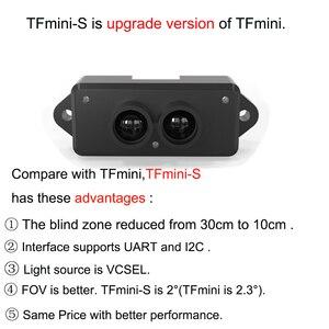 Image 2 - TFmini S Lidar Range Finder Sensor Module 0.1 12m TOF Single Point Micro Ranging  UART & IIC +GY US42 Ultrasonic Range Module