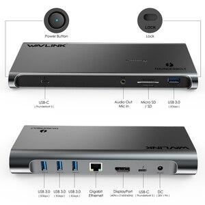 Image 3 - Thunderbolt 3 4K Display Docking Station USB C 4K DisplayPort Power Delivery Gigabit Ethernet for MacBook Pro [Intel Certified ]