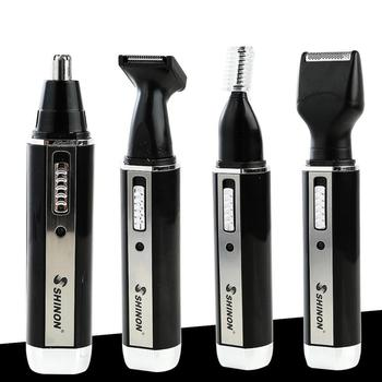 SHINON 4 In1 Multifunctional Electric Shaver Wet Dry For Men Electric Razor Rechargeable Bald Head Shaving Machine Beard Trimmer 4 in 1 electric shaver for men wet