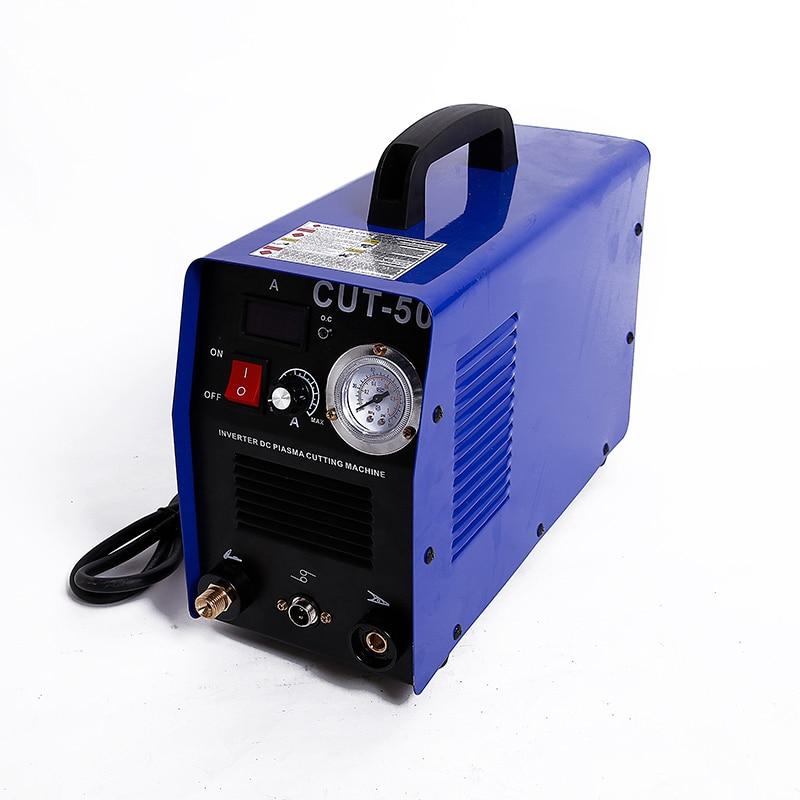Darmowa wysyłka 50 amperów palnik plazmowy, maszyna do cięcia plazmowego, towarzysz spawacza, CUT-50, CUT50