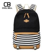 купить Women School Bags For Teenager Girls Travel Laptop Backpack Canvas Waterproof Girls Black School Backpack Cute Schoolbag дешево