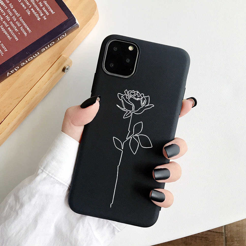 3D Relief Phone Case For iPhone 6 6s 7 8 Plus X 5 5s SE 11Pro Cover Cartoon Love Heart Soft TPU Capa For iPhone 8 XR XS Max