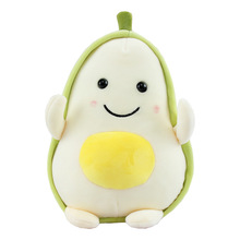 Popular Ins Simulation Cartoon Fruit Plush Toys Down Cotton Software Doll Pillow Children Adorable Cute Avocado