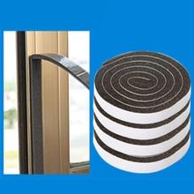 4 рулона самоклеющиеся уплотнительные полосы двери окна уплотнительные полосы шум для звукоизоляции ветер пыли EVA клейкие ленты блокировщик уплотнитель стопор