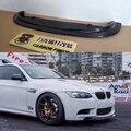 Для BMW E90 E92 E93 M3 автомобильный Стайлинг из углеродного волокна передний спойлер для губ сплиттер 1 шт.