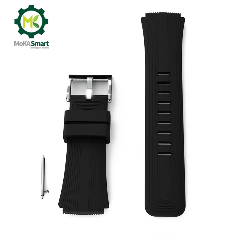 22mm Watch Strap Suitable For Most Watch Fashion Color Silicone Wristband For Women Men Watch Accessories