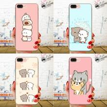 Soft Shell Cases Kawaii Molang Cartoon Dog Cat For Huawei Honor Nova Note 5 5I 8A 8X 10 Pro 9X For Moto G G2 G3 G4 G5 G6 G7 Plus(China)