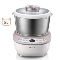 5L Electric Dough Mixer 220V Household Dough Mixer Machine Automatic Flour Fermenting Mixing Machine Multifunction Food Mixer