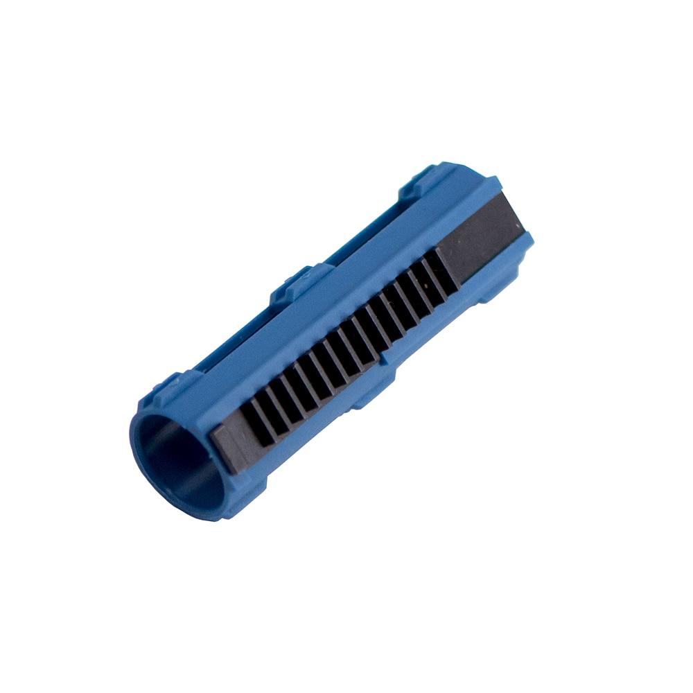 Hot Sale Blue Fibre Reinforced Full Steel 14 Teeth Piston For Airsoft M4 AK G36 MP5 Gearbox Ver 2/3 AEG Air Guns Accessories